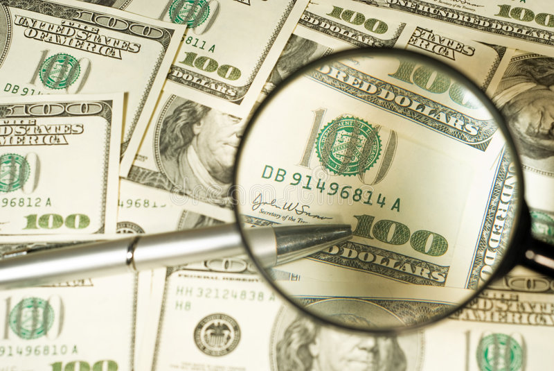 货币 图库摄影