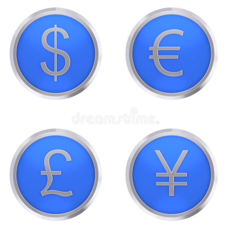货币 向量例证