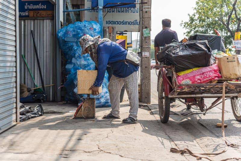 货物三轮车(沙令,Zaleng)购买未使用的项目 库存照片