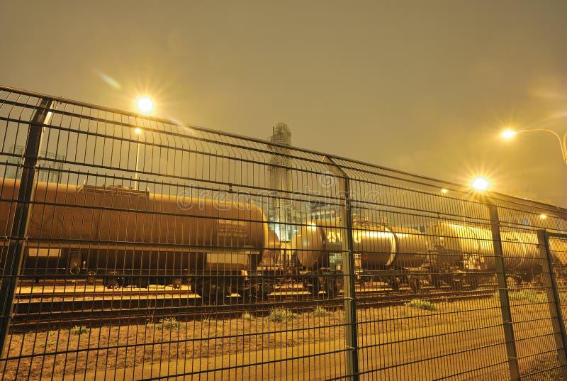 货物油培训 库存照片