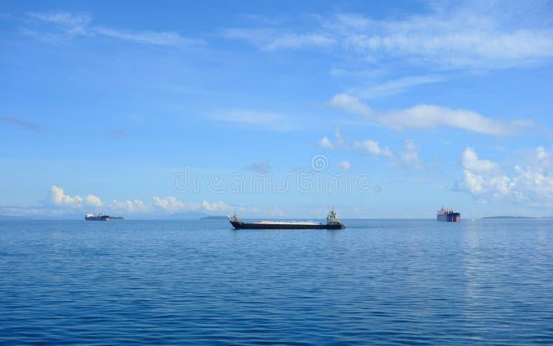 货物船 库存图片