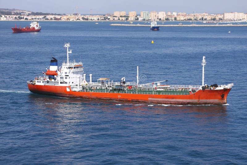货物运费船 免版税库存图片