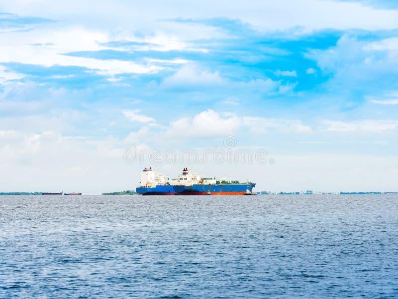 货船看法在印度洋,男性,马尔代夫 图库摄影