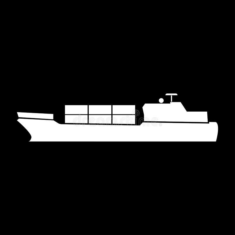 货船象 向量例证