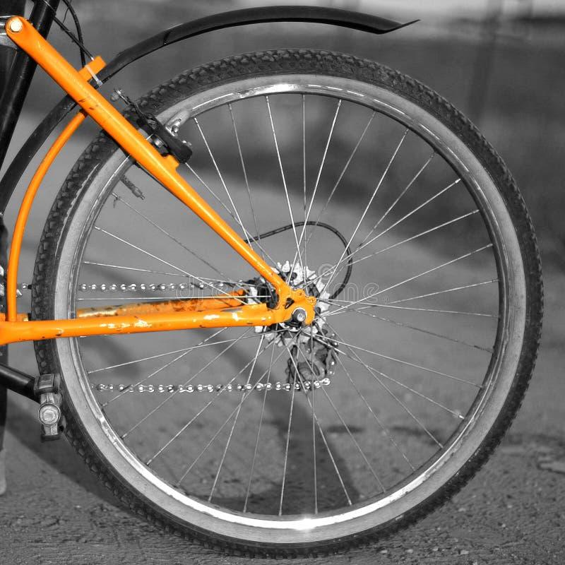 质朴的轮子 图库摄影