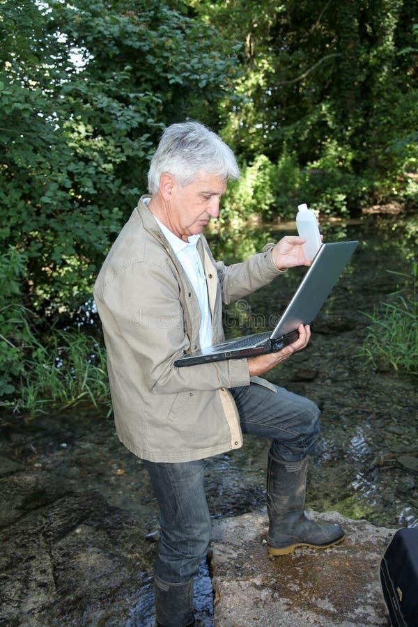 质量水 免版税图库摄影