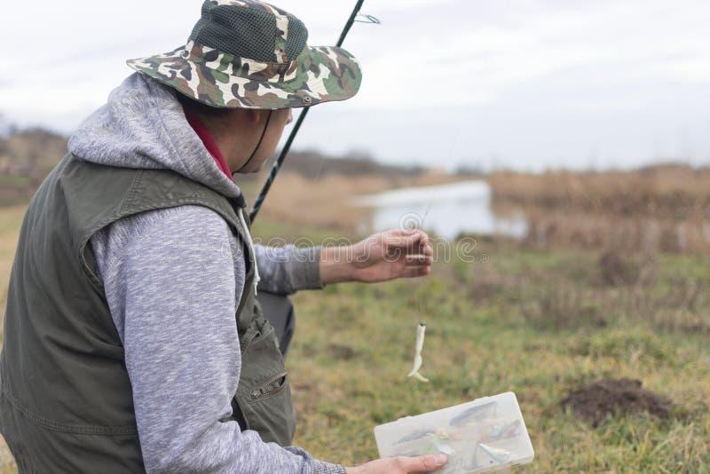 质量渔时间 免版税库存照片