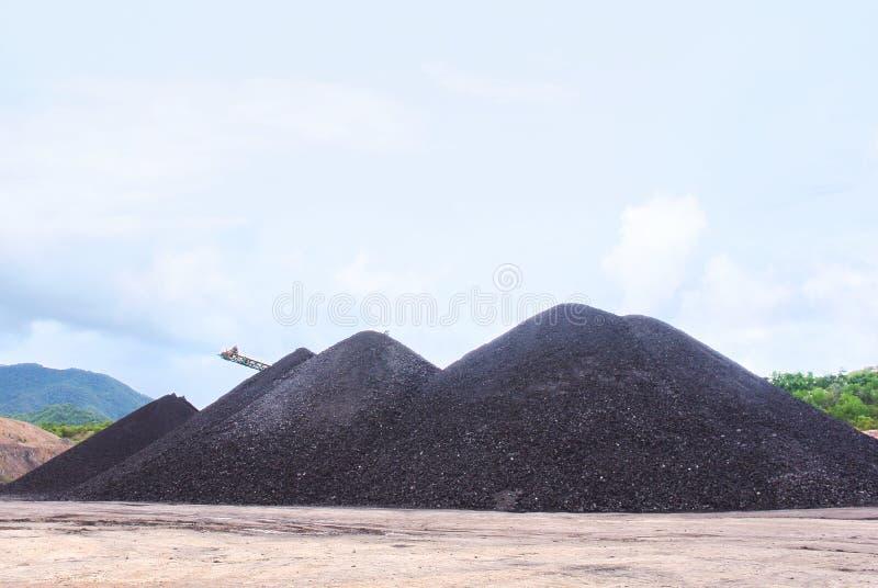 质量的褐煤准备是能源 免版税库存图片