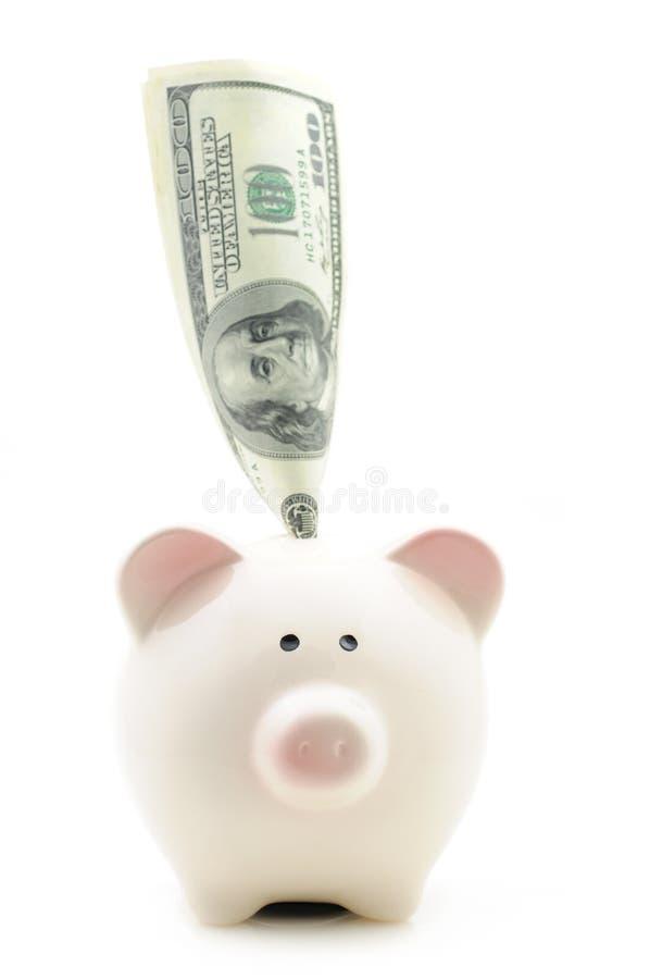 贪心的银行帐单我们 免版税库存图片