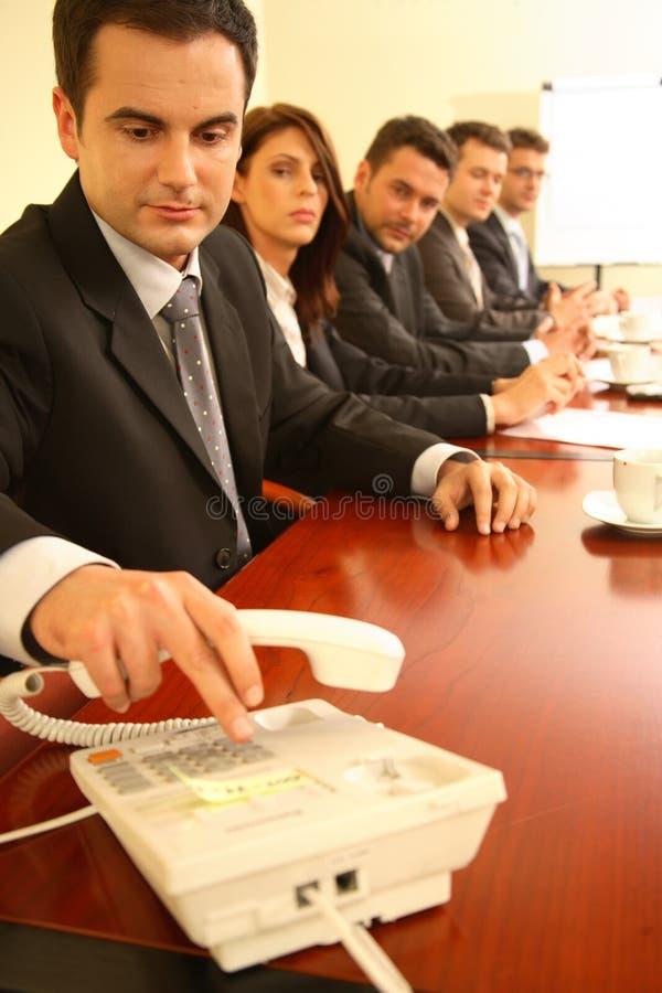 购买权会议 库存照片