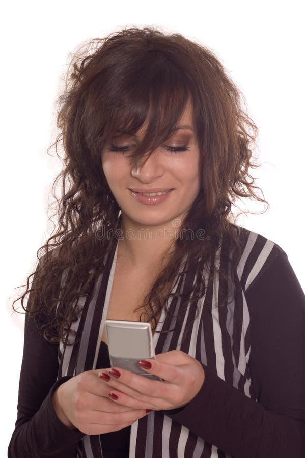 购买权移动电话 库存图片