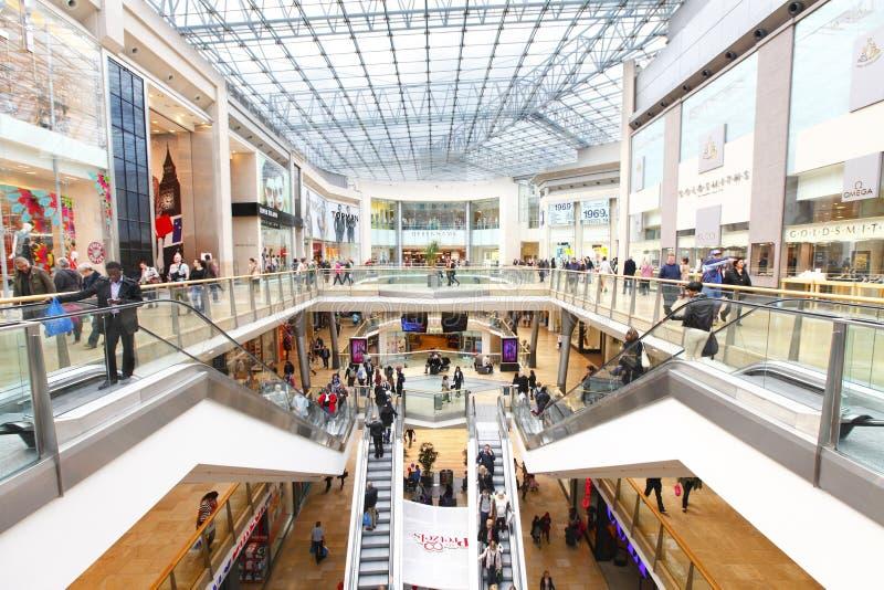 购物中心零售购物 免版税库存照片