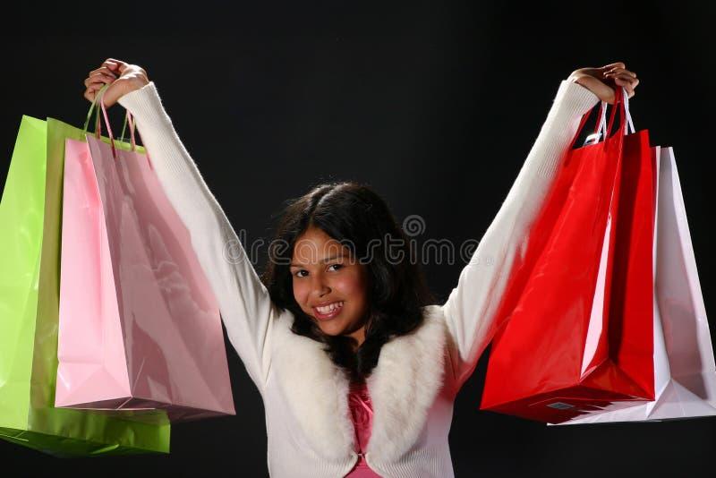 购物成功 库存图片