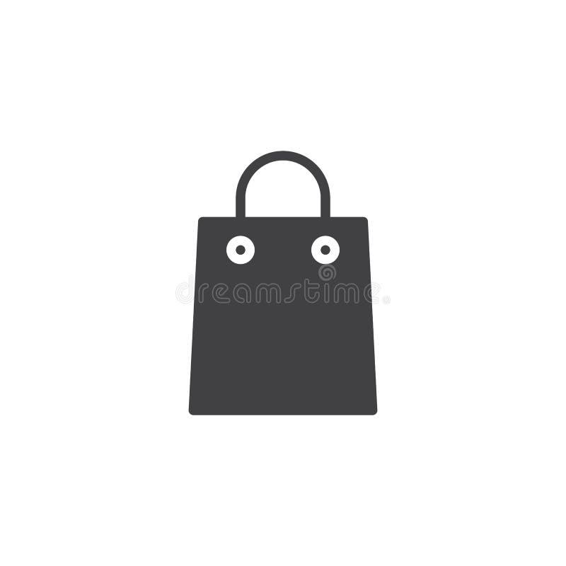 购物袋传染媒介象 皇族释放例证