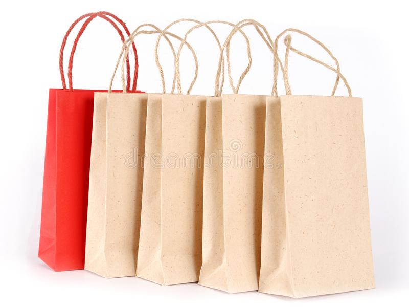 购物袋 图库摄影