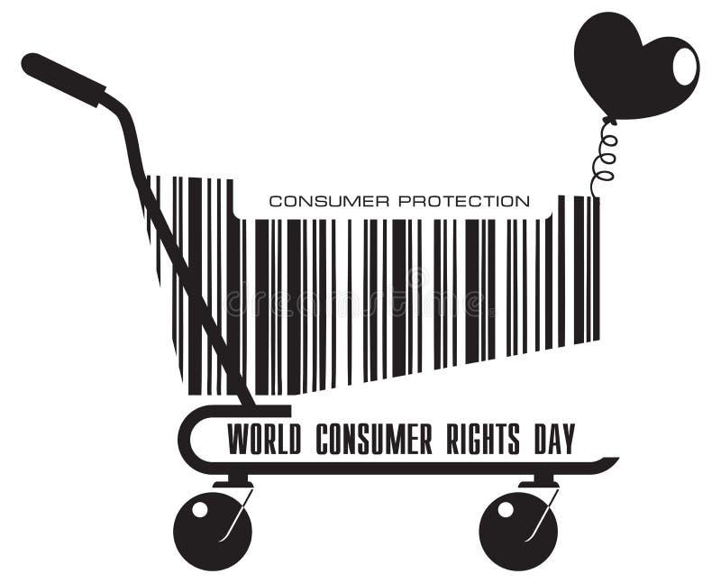购物车消费者权益天 皇族释放例证
