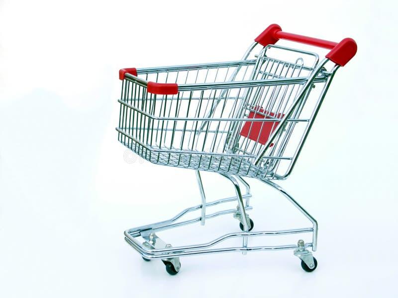 购物车空的购物 库存图片