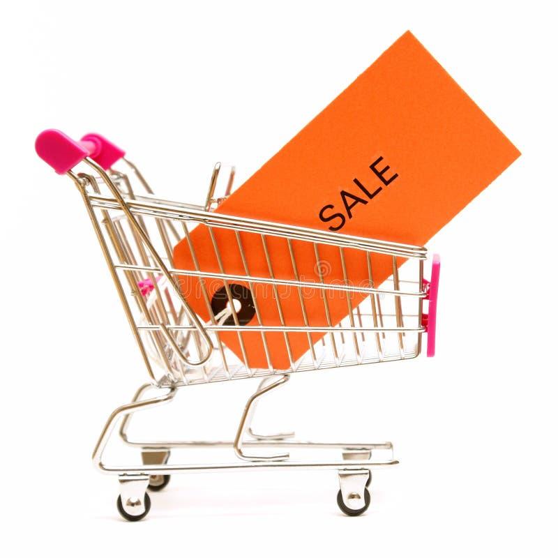 购物销售额 免版税库存图片