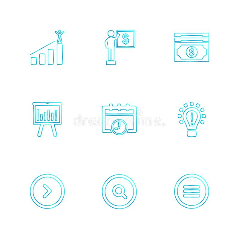 购物,推车,金钱,图表,用户界面,被设置的eps象 皇族释放例证