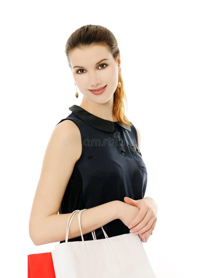 Download 购物 库存图片. 图片 包括有 顾客, 红色, 妇女, 女性, 女孩, 逗人喜爱, 白种人, 客户, 幸福 - 30335621