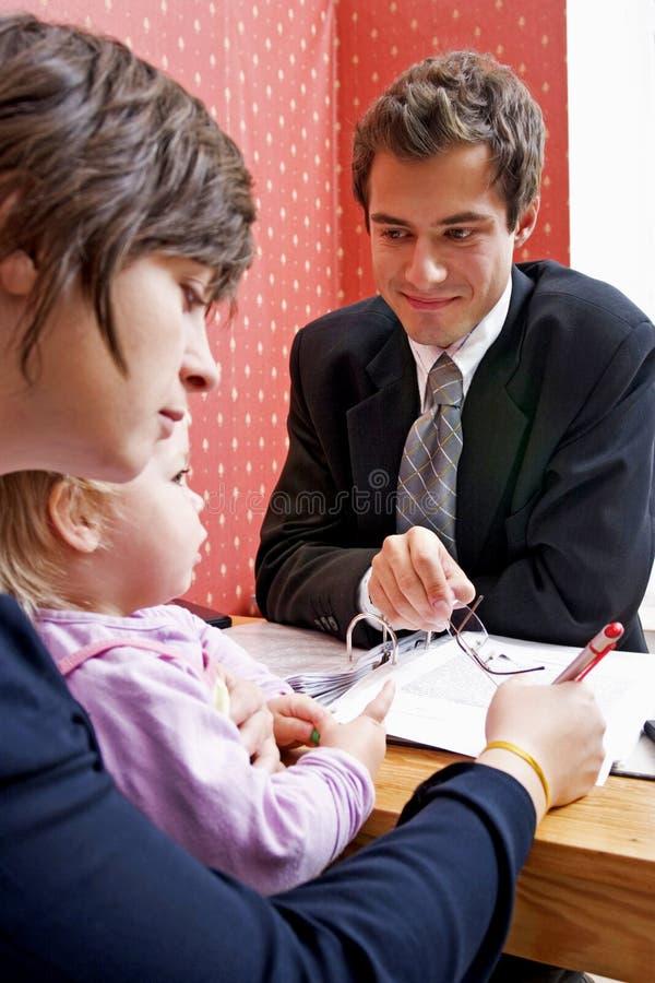 贷款系列 免版税图库摄影