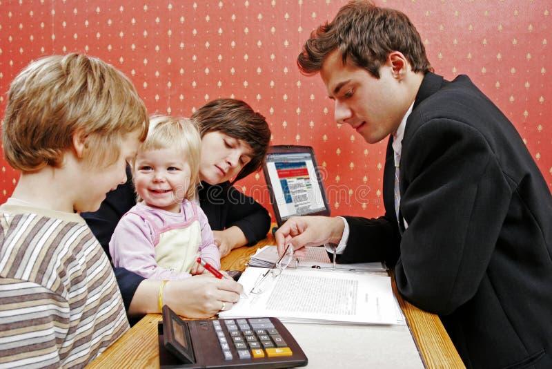 贷款系列 库存图片