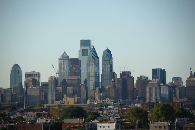 费城地平线 免版税图库摄影