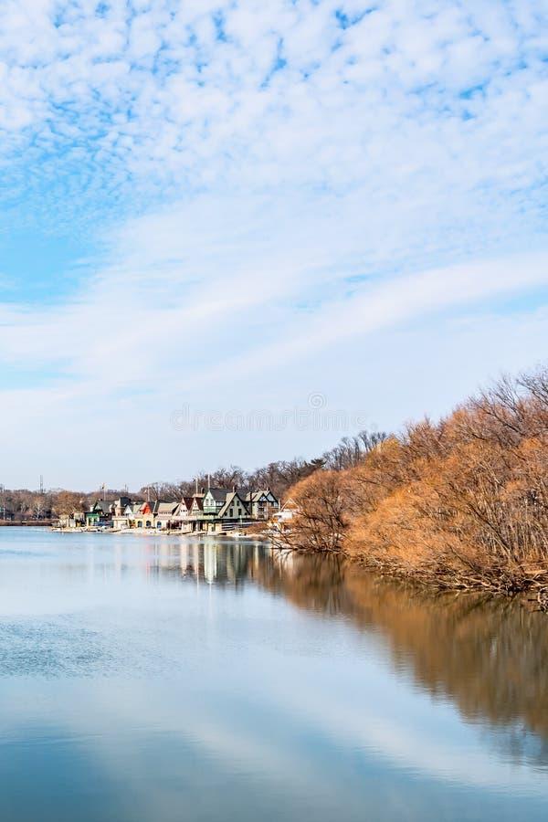 费城,宾夕法尼亚,美国- 2018年12月-从费尔芒特供水系统的看法从事园艺,费城美术馆 库存图片