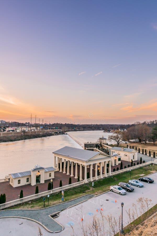 费城,宾夕法尼亚,美国- 2018年12月-费城艺术博物馆 库存照片