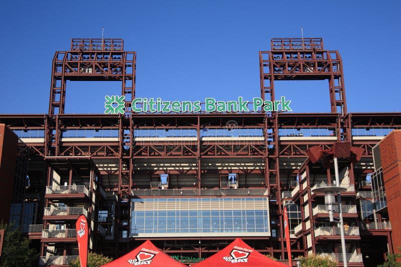 费城Phillies -公民银行公园 免版税库存图片