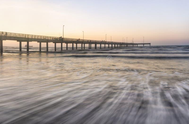 贺拉斯考德威尔码头口岸Aransas得克萨斯 库存图片