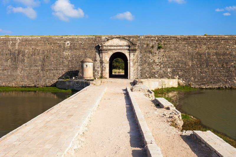 贾夫纳堡垒,斯里兰卡 免版税图库摄影