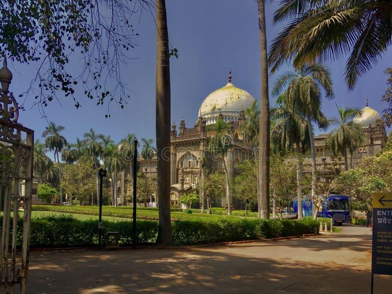 贾特拉帕蒂希瓦吉马哈拉杰Vastu Sangrahalaya,以前命名了威尔士亲王博物馆 图库摄影