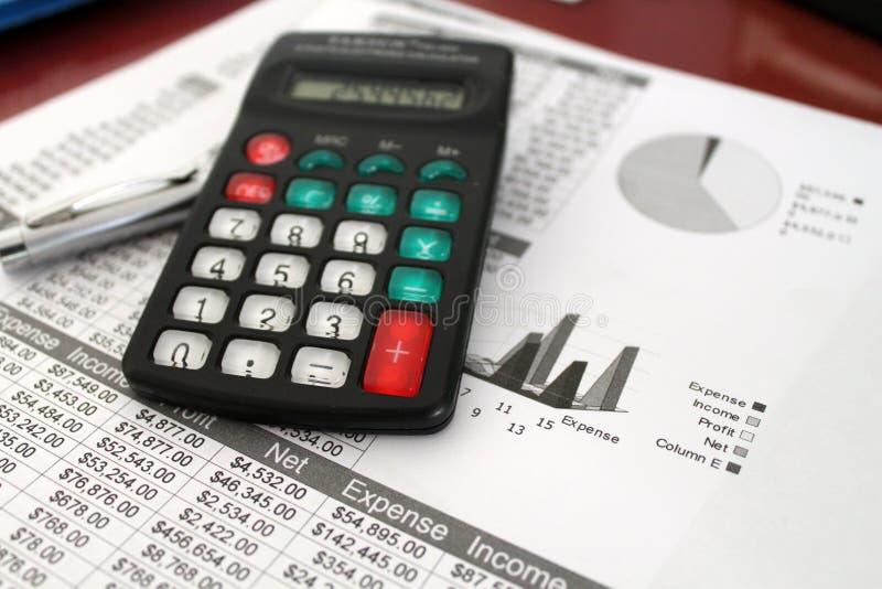 资产负债表 免版税库存图片