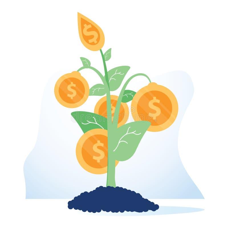 资助来源概念象 财务管理想法财政例证 预算计划 业务发展 库存例证