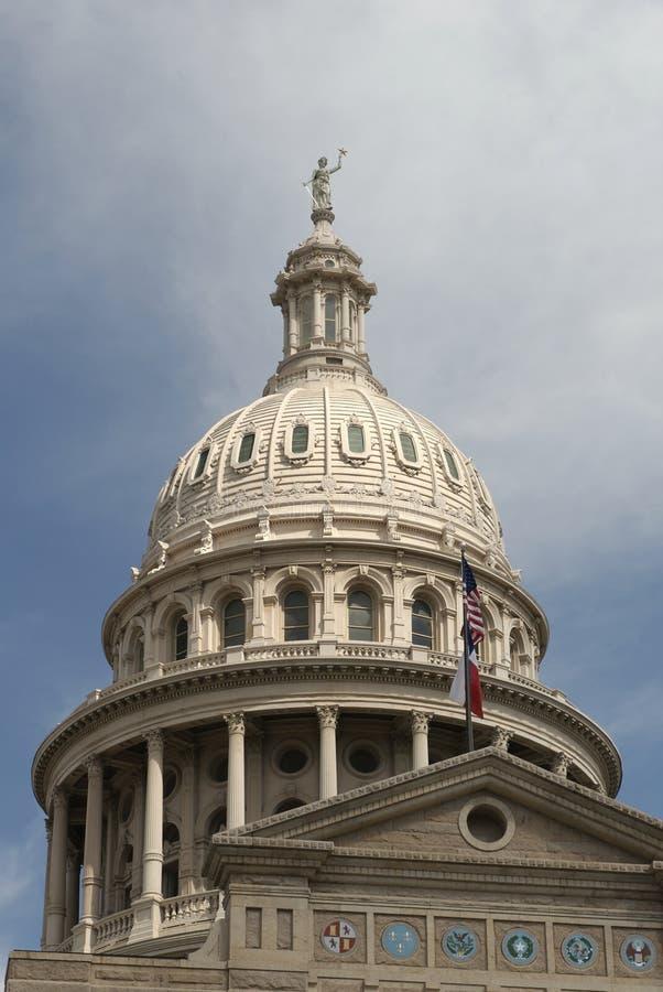 资本圆顶状态得克萨斯 免版税图库摄影