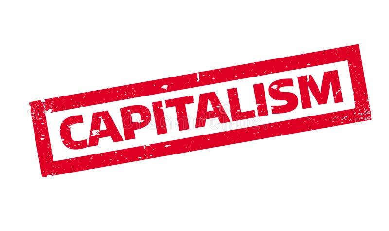 资本主义不加考虑表赞同的人 库存例证
