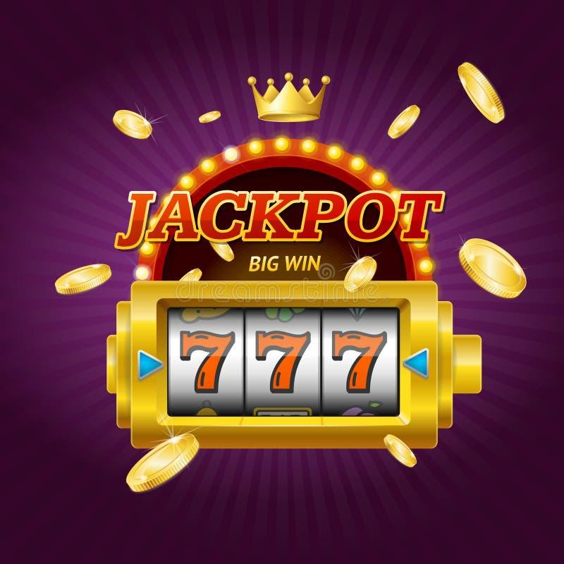 赌博娱乐场赌博游戏困境概念卡片 向量 向量例证