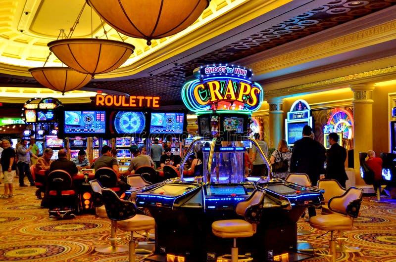 赌博娱乐场 库存照片