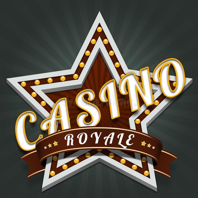 赌博娱乐场Royale 皇族释放例证