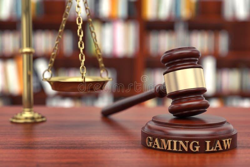 赌博法律 免版税库存图片