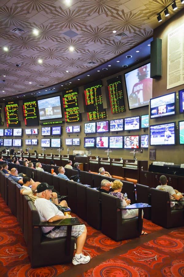 赌博的体育打赌和 免版税库存图片