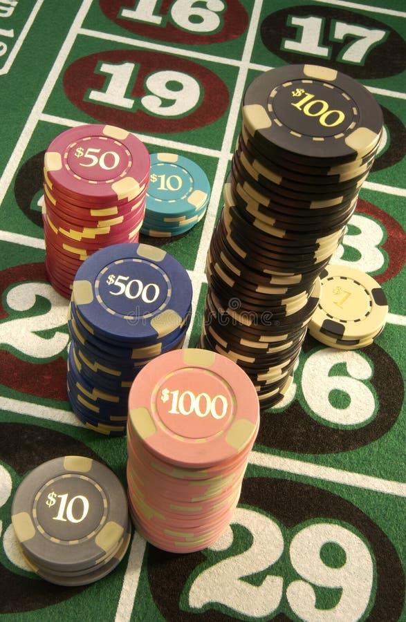 赌博的娱乐场 免版税库存图片