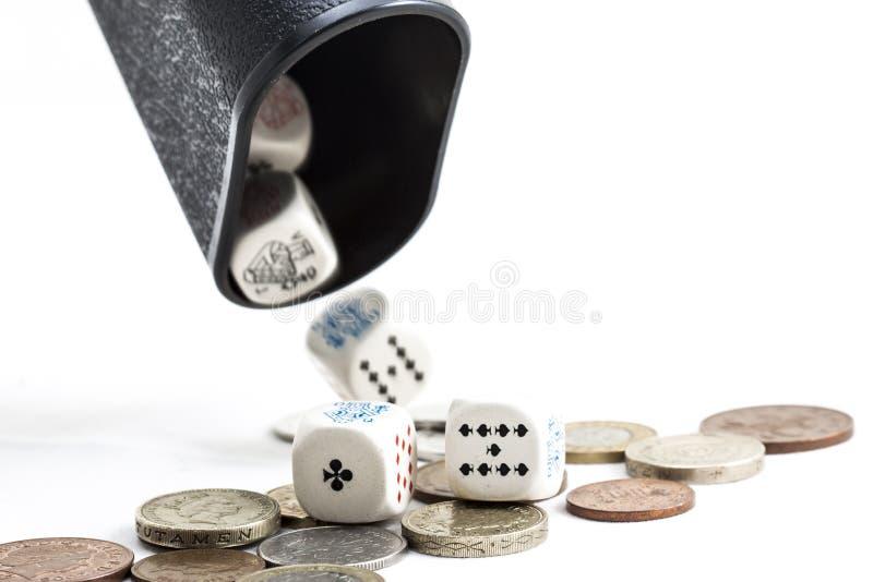 赌博 库存照片