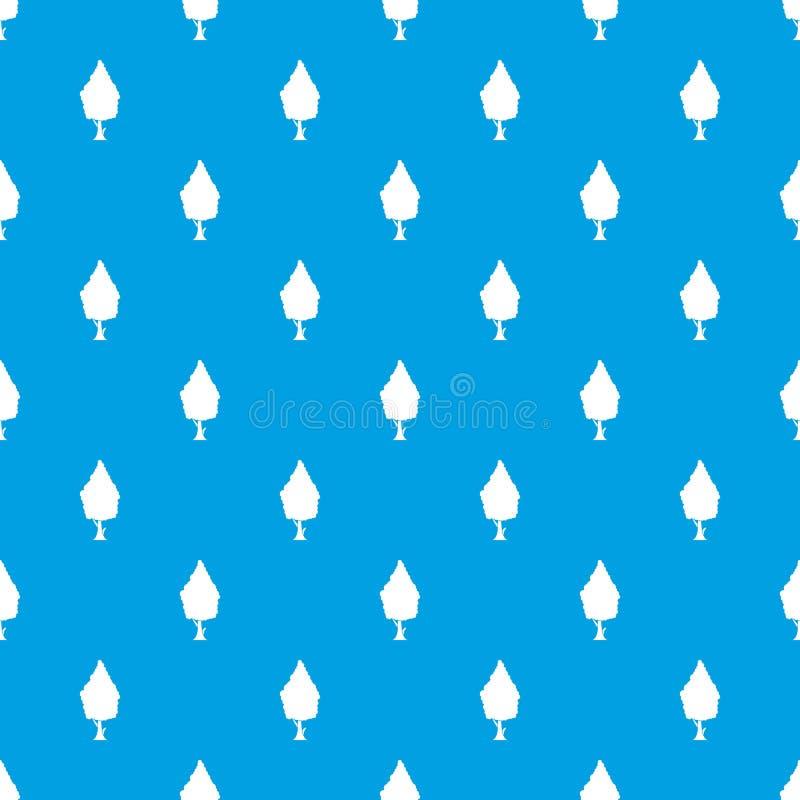 赛普里斯样式无缝的蓝色 皇族释放例证