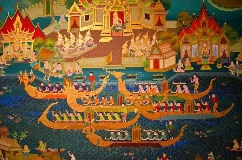 赛船会挑战(300年前) 皇族释放例证