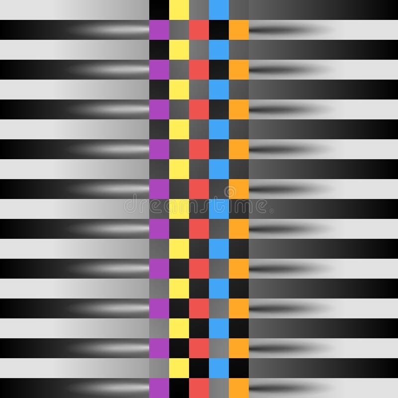 赛跑方形的背景,在赛跑的样式的传染媒介抽象 设计例证写您 皇族释放例证