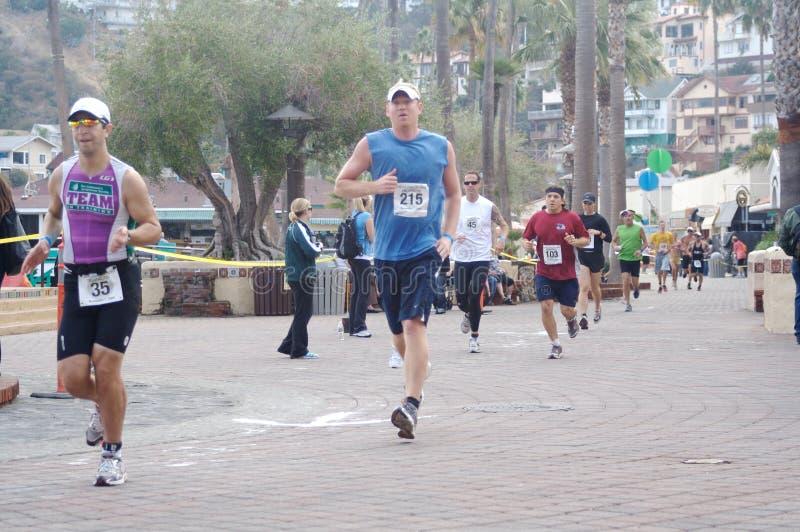 赛跑者 免版税图库摄影