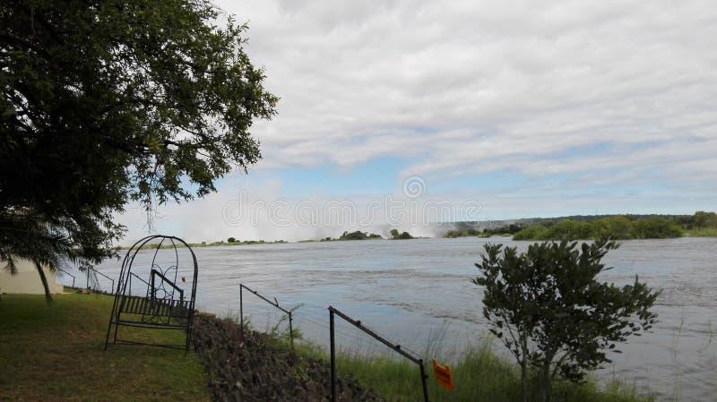 赞比西河 免版税库存图片