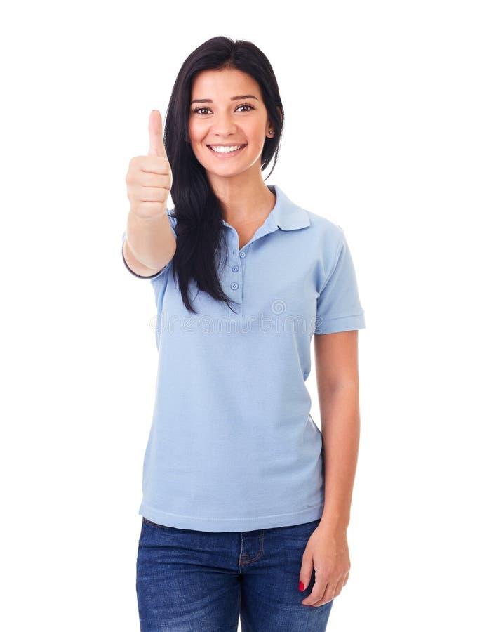 赞许妇女 免版税库存图片